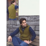 Plymouth Yarn 2877 Men's Vest