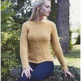 Plymouth Yarn 2921 Women's Pullover