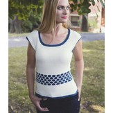 Plymouth Yarn 2924 Women's Top