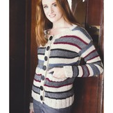 Plymouth Yarn 2939 Women's Cardigan