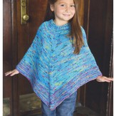Plymouth Yarn 2954 Kid's Poncho
