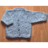 Plymouth Yarn 2976 Baby Cardigan