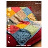 Plymouth Yarn 654 Encore Sampler Throw