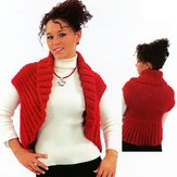 Plymouth Yarn N026 Vest