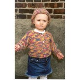 Plymouth Yarn P283 One-Piece Baby Sweater with Matching Hat