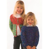 P601 Child's Pullover And Cardigan