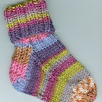 F193 Knit Col Baby/Toddler Socks (Free)