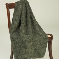 F343 Coffee Beenz Textured Throw (Free)