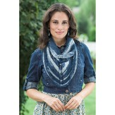 Plymouth Yarn F454 Linen Concerto Picot Scarf (Free)