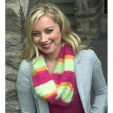 "Plymouth Yarn F507 ""Brighten Up Winter"" Cowl (Free)"