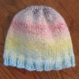Plymouth Yarn SFA-04 Encore Worsted Toddler Hat (Free)