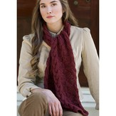 Premier Yarns Mirrored Cables Scarf (Free)