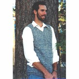Knitting Pure & Simple 215 Basic Vest For Men