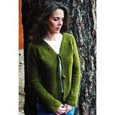 Knitting Pure & Simple 241 Neck Down Shaped Cardigan