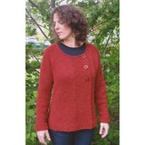 Knitting Pure & Simple 299 Bulky Asymmetric Cardigan