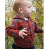 Knitting Pure & Simple 982 Babies Neckdown Cardigan