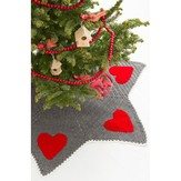 Red Heart Holiday Hearts Tree Skirt (Free)