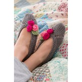 Red Heart Slippers for Her (Free)
