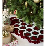 Red Heart Victorian Tree Skirt (Free)
