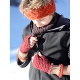 Designs by Romi Gnarled Entling Mitts