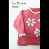 Roo Designs Flower Pullover