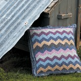 Rowan Zig Zag Floor Cushion (Free)