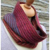Rowan Striped Cowl PDF
