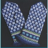 Schoolhouse Press #12 Fringed Sun Mittens