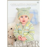 Sirdar 402 Cosy Little Crofters Pattern Booklet