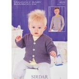 Sirdar 4520 Sweater and Cardigan