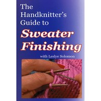 Handknitters Guide to Sweater Finishing DVD