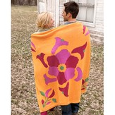 Spud & Chloë 9512 Flower Power Throw