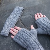 Steppingstone Fiber Creations Bluster-Proof Mitts and Headband PDF