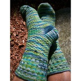 Steppingstone Fiber Creations Northampton Beat Socks PDF