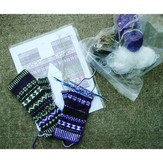 Design Your Own Fair Isle Fingerless Mitts with Kate Atherley