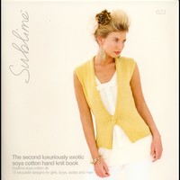 623 The Second Luxuriously Exotic Soya Cotton Hand Knit Book