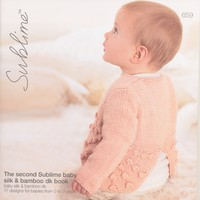 659 The Second Sublime Baby Silk & Bamboo DK Book