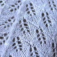 Lilac Leaves Shawl PDF