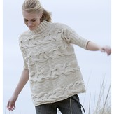 Tahki Yarns Georgica Horizontal Cable Pullover (Free)