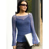 Tahki Yarns Paris Crochet Tunic (Free)