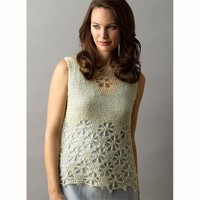 Floral Lace Shell PDF