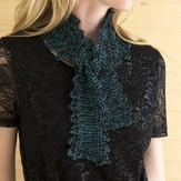 Stacy Charles Fine Yarns Renee Picot-Edged Scarf PDF