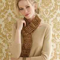 Paulette Drop Stitch Scarf PDF