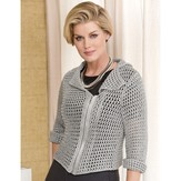 S.Charles Collezione Nathalie Mesh Jacket PDF