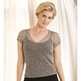 Stacy Charles Fine Yarns Laetitia Sheer V-Neck PDF