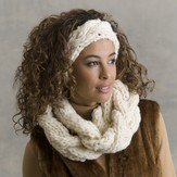 Tahki Yarns Balzac Braided Cowl and Headband PDF
