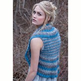 Stacy Charles Fine Yarns Dinah Striped Circle Vest PDF