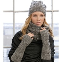 Catherine Hat, Cowl & Armwarmers PDF