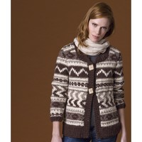 Cedarwood Fair Isle Jacket PDF