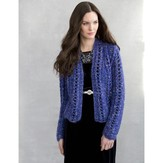 Stacy Charles Fine Yarns Edie Lace Jacket PDF